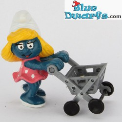 40227: Shopping Cart, Smurfette with
