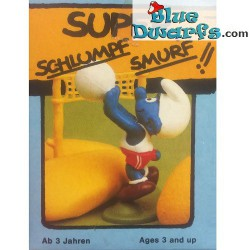 40223: Volleyball Smurf (Super Smurf/ MIB)