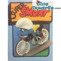 40501: Cyclist Smurf (Super smurf)