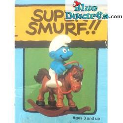 40221: Rocking Horse Smurf