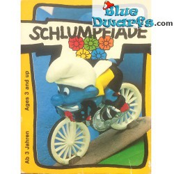 40501: Cyclist Smurf (Super smurf)