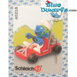 40218: Go Cart Smurf (Supersmurf)