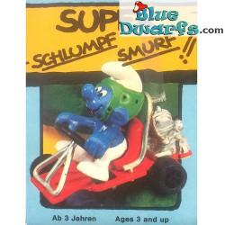 40218: Go Cart Smurf (Supersmurf)