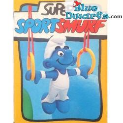 40510: Ring Gymnast Smurf (Super Smurf/MIB)