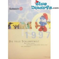 Catalogue de la collection des schtroumpfs 1997  (10x14,5 cm)