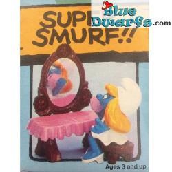 40234: Vanity Table Smurfette (Supersmurf)