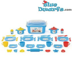 Playset: Pitufo chef (40 partes)