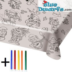 Table cover smurfette (180 x 120 cm)