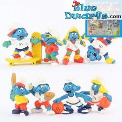 PROMO: Mc Donalds Set 1998 (8 smurfs)