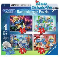 """Les Puzzles Ravensburger """"Le Village Perdu""""* schtroumpfs"""