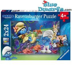 "2x24  Puzzles: Das Verlorene Dorf""  *Ravensburger*"