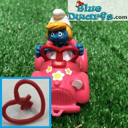 40241: Smurfette in car (Supersmurf)