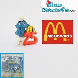 25 Anniversary Smurf (Mc Donalds, 1996)