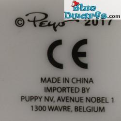 Plástico pitufo móvil (+/- 30 cm)