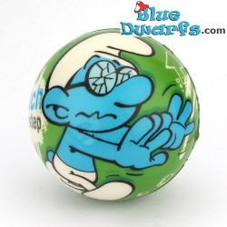 Smurf PU ball: Brainy smurf 2 GREEN (62 mm) *stressball*