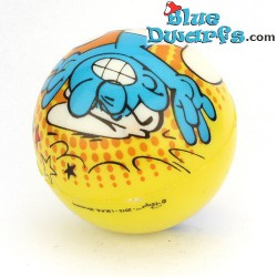 Smurf PU ball: Brainy smurf (62 mm) *stressball*