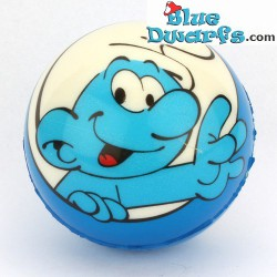 Smurf PU ball: Normal smurf LIGHTBLUE (62 mm) *stressball*