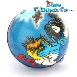 Smurf PU ball: Jokey smurf (62 mm) *stressball*