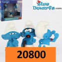 20800-? (2017): The lost village movie smurfs Schleich (movie 3/2017)