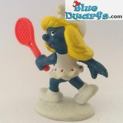 20135: Pitufina jugadora de tenis