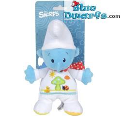 Smurfen knuffel:Baby smurf (+/- 20 cm)