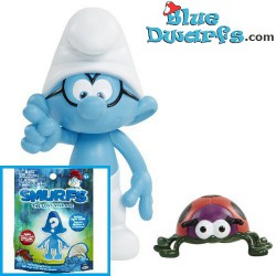 8x smurf *SUPRISE* (Smurfs 3: The lost village) *Jakks Pacific *