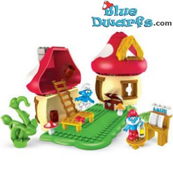 MegaBlocks: Papa smurf house (MINT IN BOX)