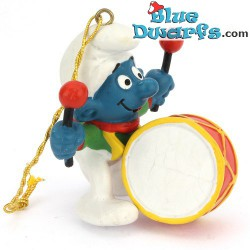 51908: Christmas Smurf with Drum