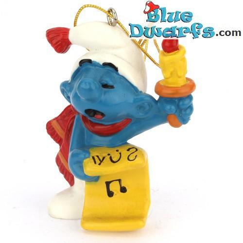 51905: Christmas Smurf Candle & sheet