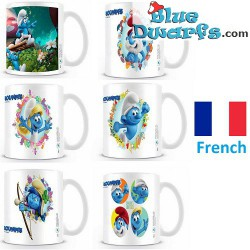 1 x The lost village smurf mug/ LES SCHTROUMPFS: SMURFSTORM (32,5 cl)