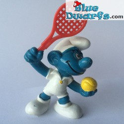20093: Tennisplayer Smurf