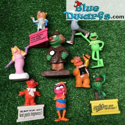9 x The Muppet show figurines