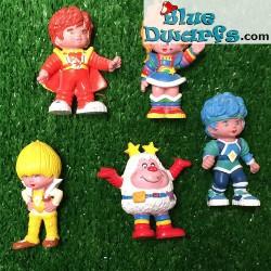Rainbow Brite (5 figurines, +/-6m)