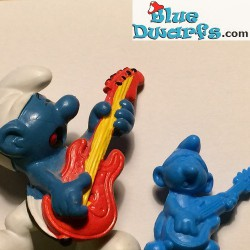 Rock 'n Roll Smurf MINISMURF *OMO* (+/- 2cm)