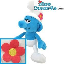 Smurfen knuffel: Hippe smurf (+/- 45 cm)