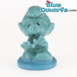 Somnambule Mini Schtroumpf Bully *Bleu / bleu foncé*  (+/- 2cm)