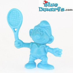 Tennis Smurf MINISMURF *OMO* (+/- 2cm)