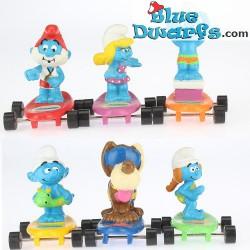 Smurfette on Skateboard (Hardee's)