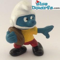 20132: American Footballer Smurf