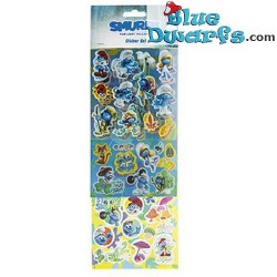 3x Smurf stickers (Smurfs 3: The lost village)