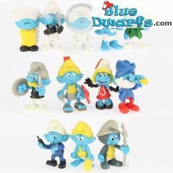 12 Chupa Chup smurfs Minis (multicolor)