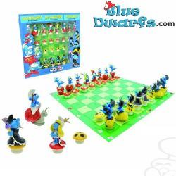 Smurf Chess Plastoy