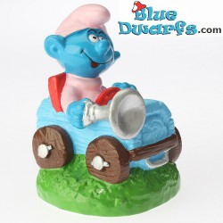Child smurf on truck *Candytopper* (BIP Holland, +/- 8cm)