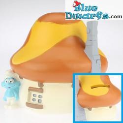 Paben: Smurf house orange +/- 11 cm (moneybox)