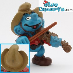 20159: Violin player Smurf (light brown 2)