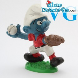 20166: Baseball Pitcher Smurf