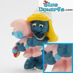20192: Smurfette with baby