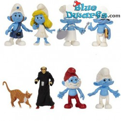 Mc Smurf and smurfette *Jakks Pacific* (+/- 7cm)