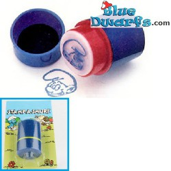 Blue stamp smurf *Ganz bros. toys ltd./ Stamp a Smurf*