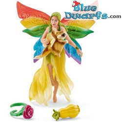Bayala: Schleich rainbow Meena and flying squirrel (41437)